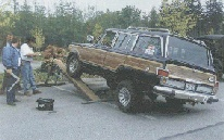 Old Blue john's former 81 Wagoneer does 673 on the RTI!, click to see more Full Size Jeeps!